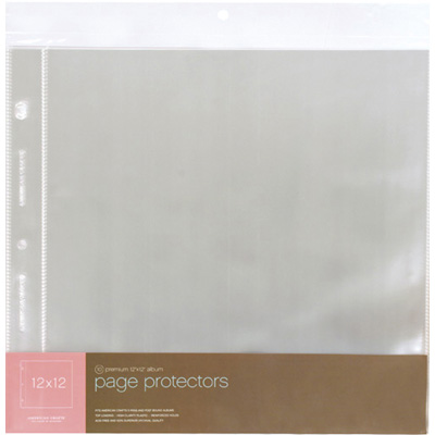 Photo page protectors 4x6 in12x12 scrap n country for American crafts page protectors 8x8
